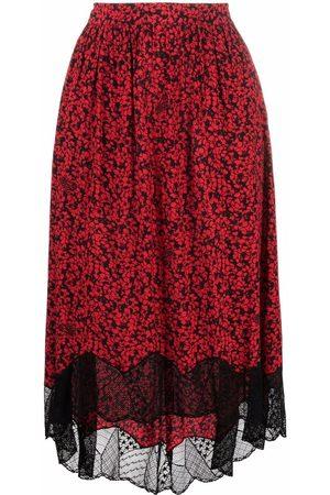 Zadig&Voltaire Women Printed Skirts - Joslin floral-print skirt
