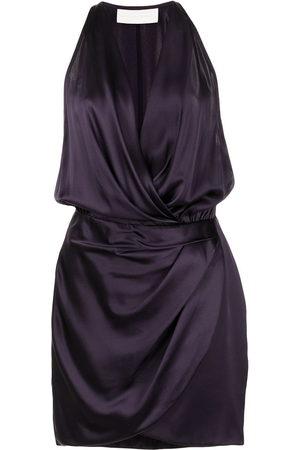Michelle Mason Women Party Dresses - Halter mini dress