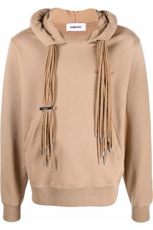 AMBUSH Men Long sleeves - Multi-cord long-sleeve hoodie - Neutrals