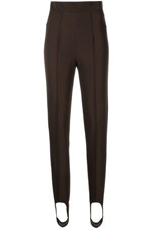 Bally Stirrup-cuff skinny trousers