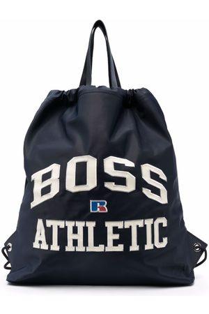 Boss Hugo Boss Logo-embroidered drawstring bag