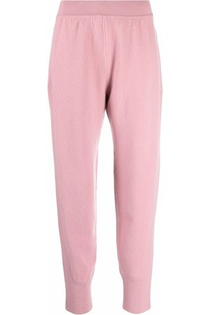 Alberta Ferretti Women Sweatpants - Cashmere-wool blend knit joggers