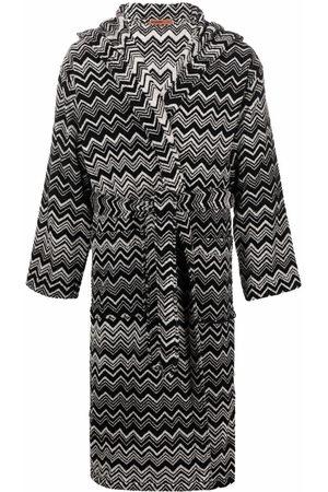 Missoni Home Bathrobes - Striped tie-fastening robe