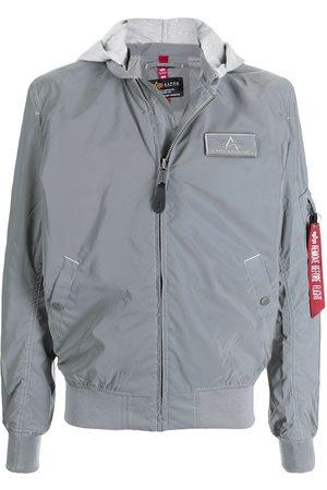 Alpha Industries MA-1 lightweight reflective flight jacket