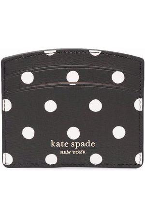 Kate Spade Polka-dot print carholder