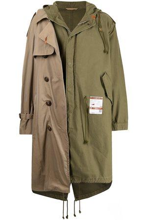 Maison Mihara Yasuhiro Double-layered trench coat