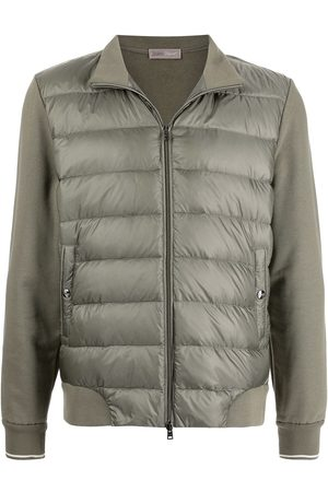 Herno Men Puffer Jackets - Padded zip-front jacket