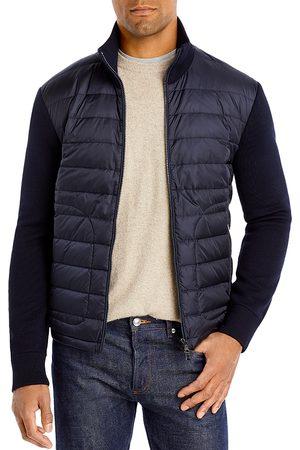 Moncler Men Gilets - Regular Fit Quilted Vest Sweater