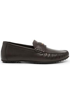 Versace Medusa penny loafers