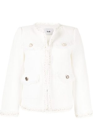 b+ab Women Jackets - Fitted tweed jacket