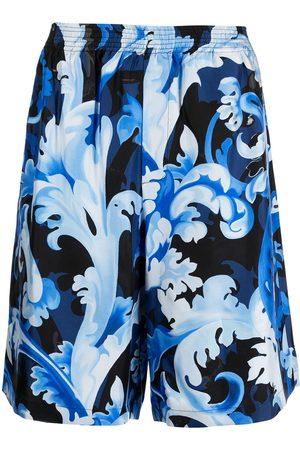 VERSACE Baroccoflage-print bermuda shorts