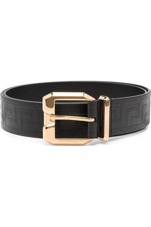Versace La Greca leather belt