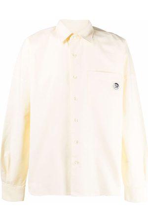 Diesel Logo-embroidered shirt