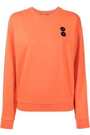 Armani Exchange Women Sweatshirts - Logo crew-neck sweatshirt