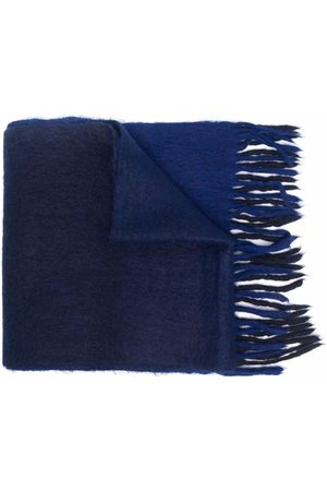 Isabel Marant Two-tone alpaca wool scarf