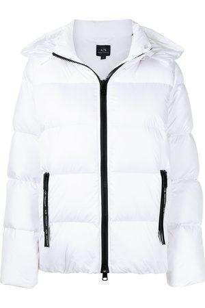 Armani Exchange Women Puffer Jackets - Zipped padded jacket