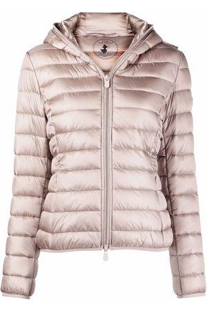 save the duck Iris hooded puffer jacket - Neutrals