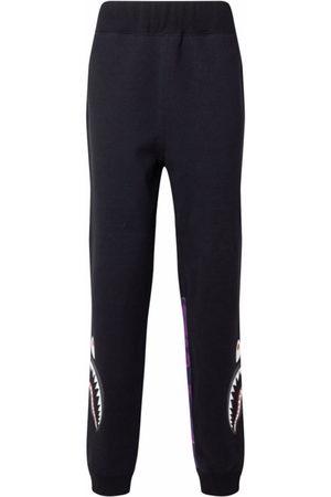 A BATHING APE® Men Sweatpants - Color Camo Side Shark track pants