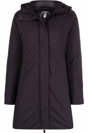 Save The Duck Women Coats - Matt hooded midi coat