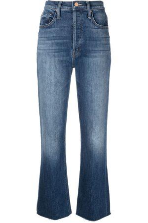MOTHER Women High Waisted - High-rise straight-leg jeans