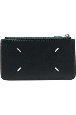 Maison Margiela Men Wallets - Four-stitch tonal cardholder