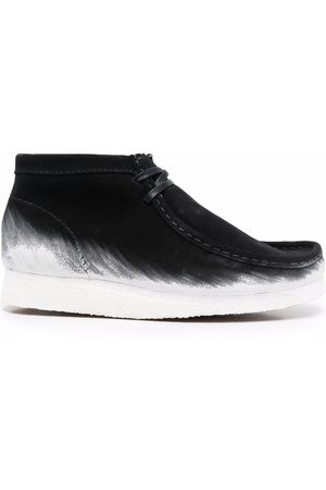 Clarks Originals Wallabee paint-dipped boots