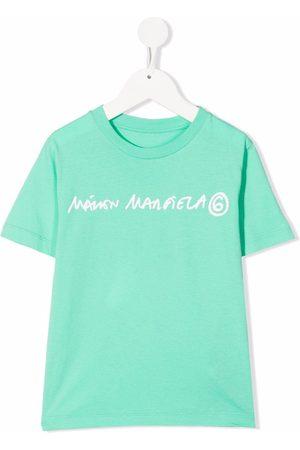 MM6 KIDS Logo-print short-sleeved T-shirt