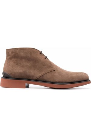Tod's Suede lace-up boots