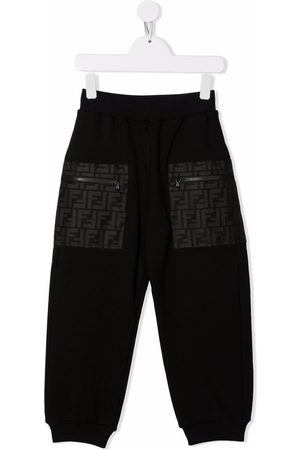 Fendi Kids FF-print track pants