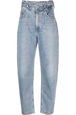 AGOLDE High-rise tapered jeans