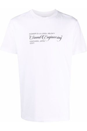 Off-White Pioneer Painting T-shirt