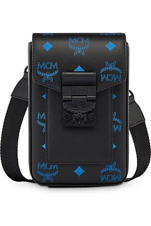 MCM Color Splash Logo Mini Crossbody Bag
