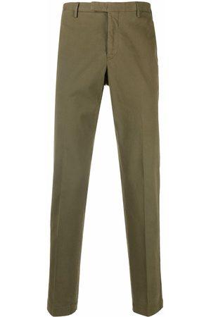 Pt01 Mid-rise slim-fit trousers