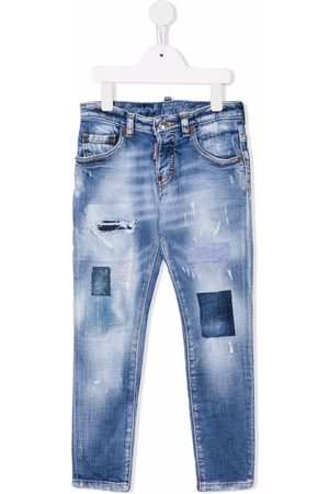 Dsquared2 Kids Slim-fit ripped jeans