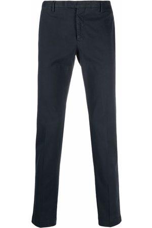 PT01 Men Formal Pants - Mid-rise slim-fit trousers