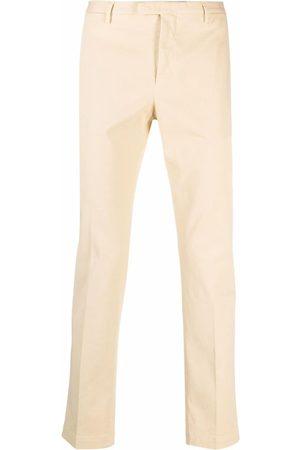 PT01 Mid-rise slim-fit trousers - Neutrals