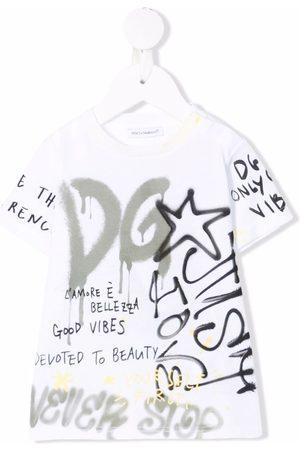 Dolce & Gabbana Logo-print short-sleeved T-shirt