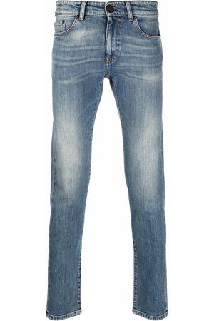 Pt01 Low-rise slim-fit jeans