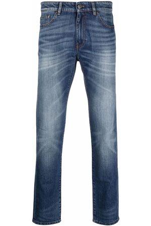 Pt01 Low-rise slim-cut jeans