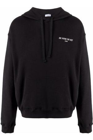 Ih Nom Uh Nit Men Hoodies - Chest logo-print hoodie