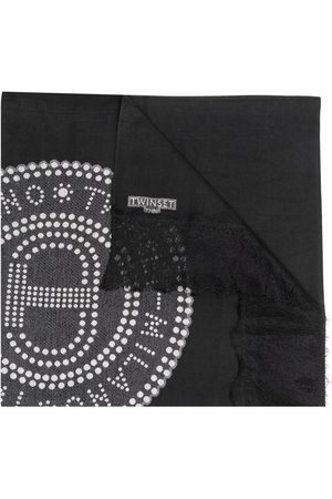 TWINSET Logo-print scarf