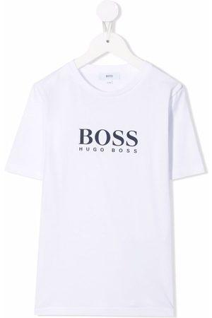 BOSS Kidswear Logo-print short-sleeved T-shirt