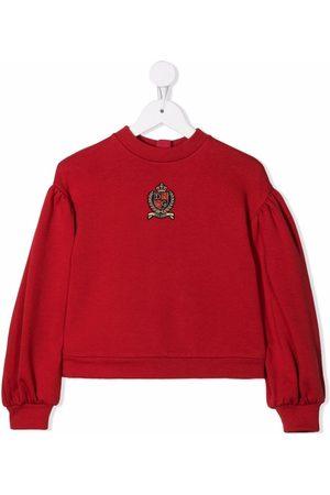 Dolce & Gabbana Kids Logo-patch sweatshirt