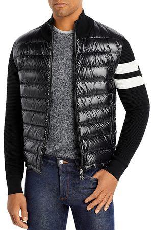 Moncler Regular Fit Quilted Vest Sweater