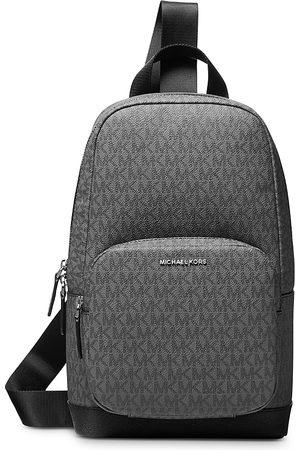 Michael Kors Men Laptop Bags - Logo Print Commuter Sling Backpack