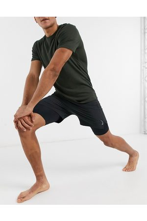 Nike Men Sports Shorts - Nike Yoga Dri-FIT 2 in 1 shorts in
