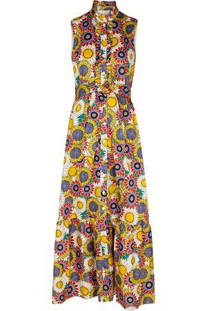 Borgo De Nor Brooke floral-print cotton maxi dress