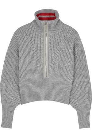 Philosophy Di Lorenzo Serafini Grey half-zip wool jumper