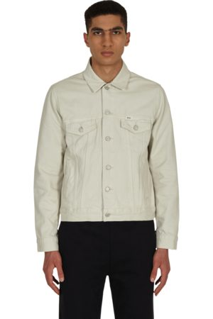 Polo Ralph Lauren Men Denim Jackets - Garment-dyed denim trucker jacket ADAMSON CLASSIC STONE S