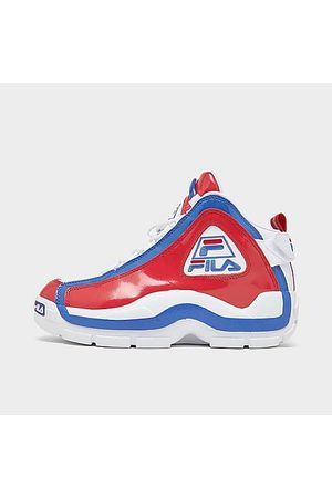 Fila Boys' Big Kids' Grant Hill 2 Basketball Shoes in / / Size 4.0 Leather